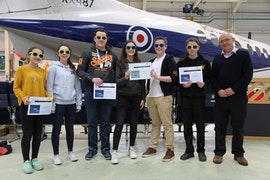 Plasmawr Aero Challenge winners April 2017