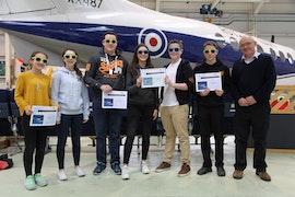 Plasmawr Aero Challenge winners April 2017