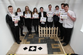 St Richard Gwyn at Design and Construction Challenge April 2017