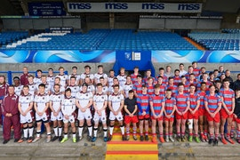 CAVC Rugby Academy and Conestoga High School at Cardiff Arms Park April 2017